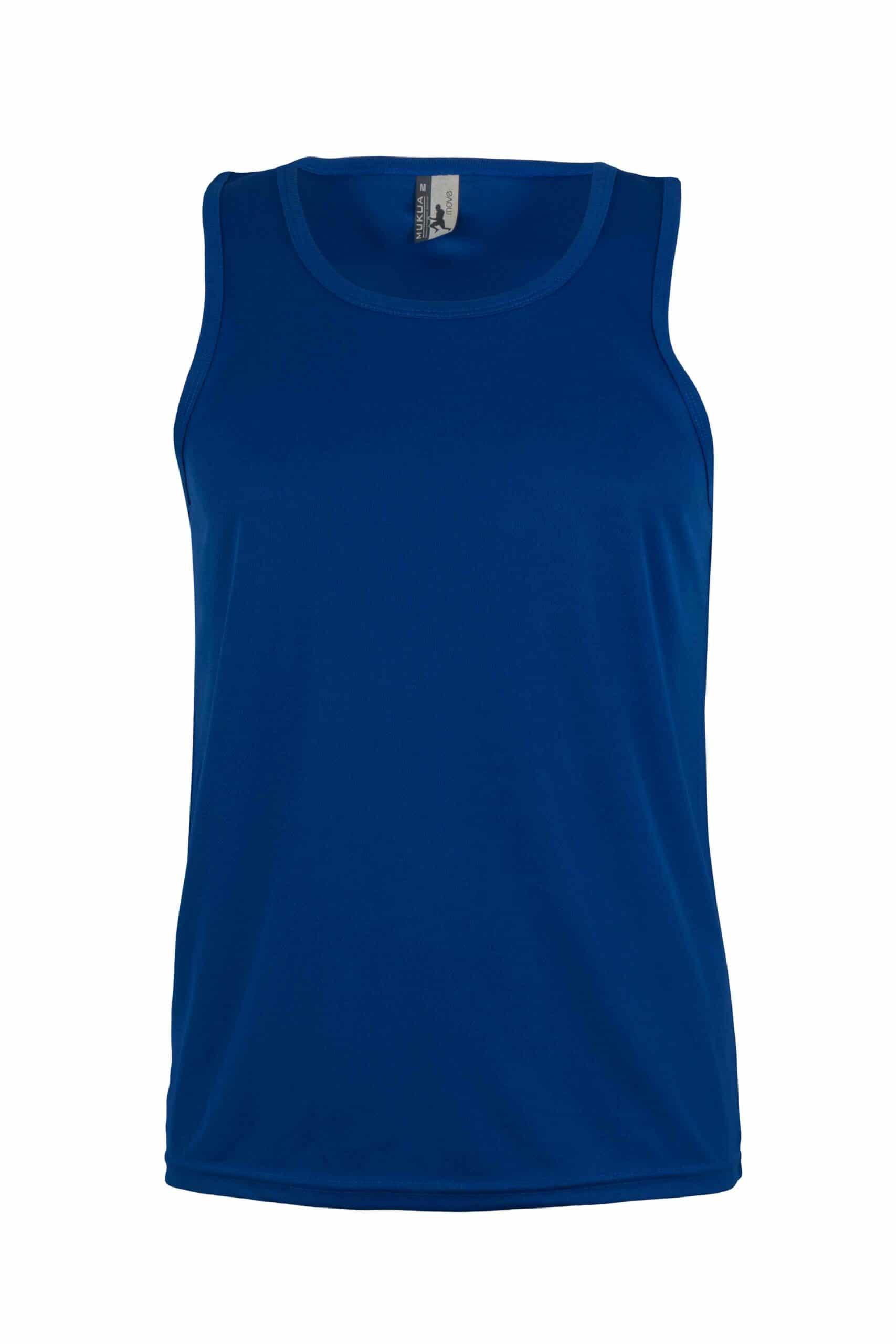 Mukua Mk525v Camiseta TÉcnica Tirantes Royal Blue