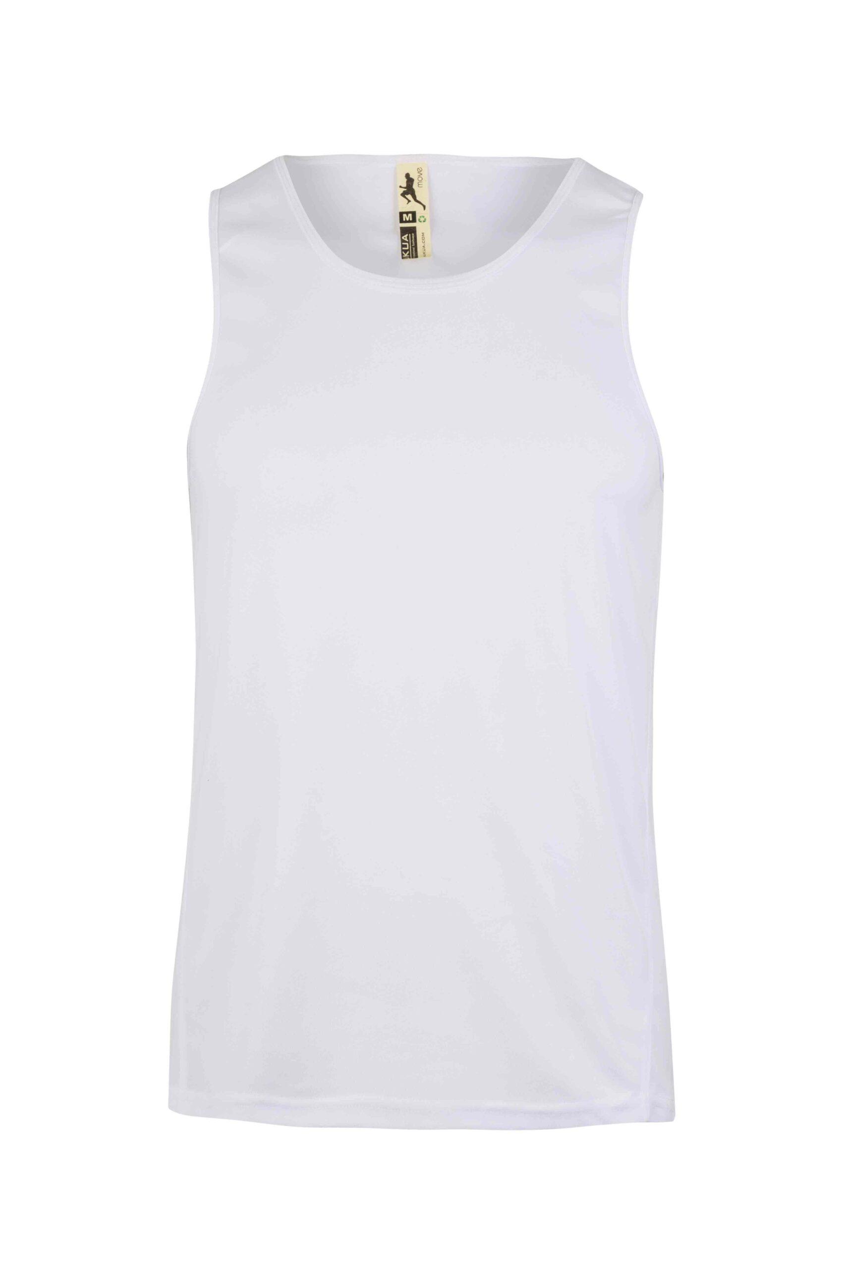 Mukua Mk525v Camiseta TÉcnica Tirantes White