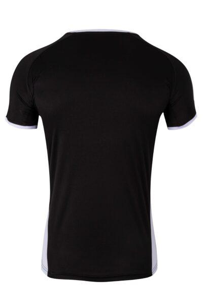 Mukua Mk530v Mukua Camiseta TÉcnica Manga Corta Bicolor Black White 2