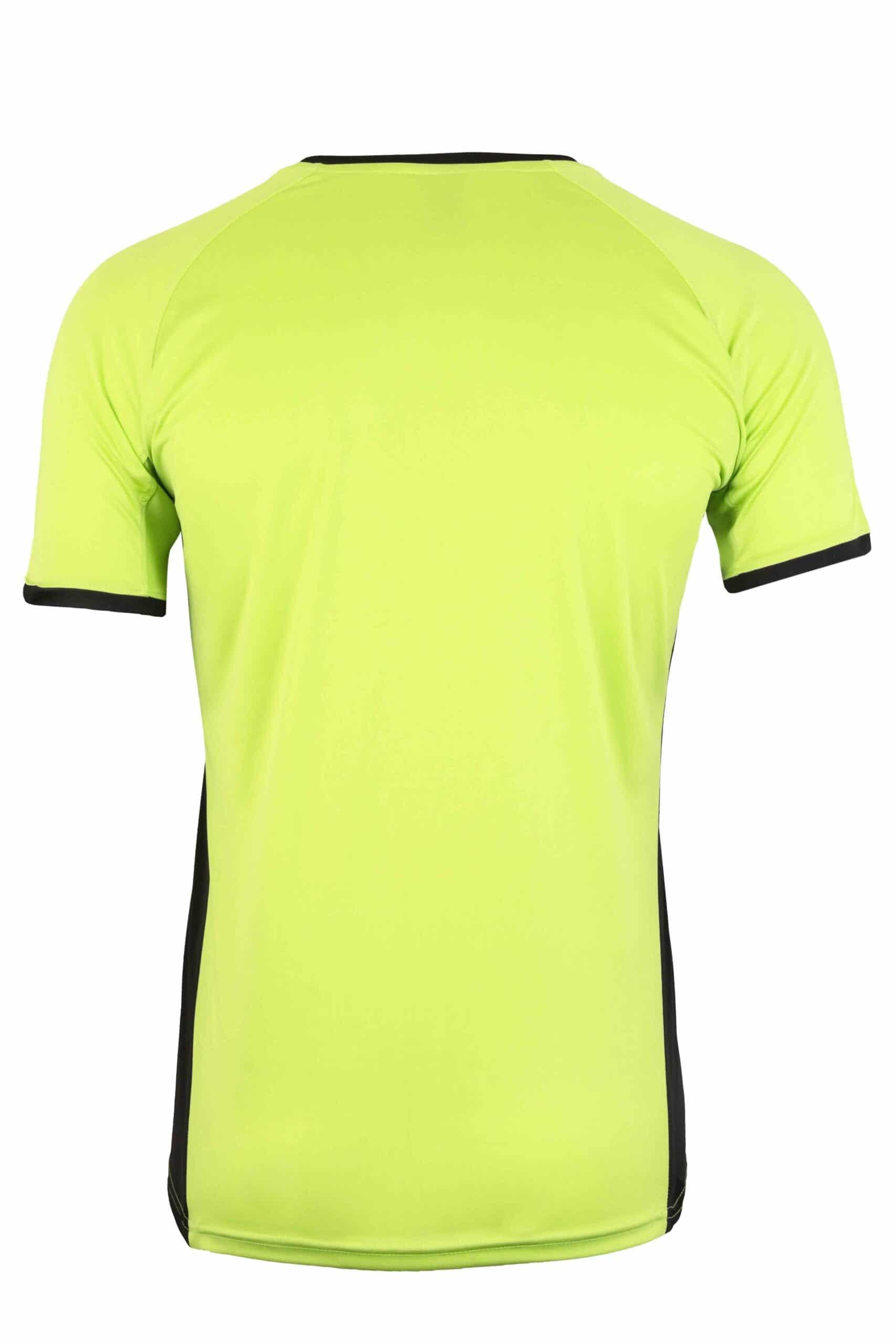 Mukua Mk530v Mukua Camiseta TÉcnica Manga Corta Bicolor Lime Blak 2