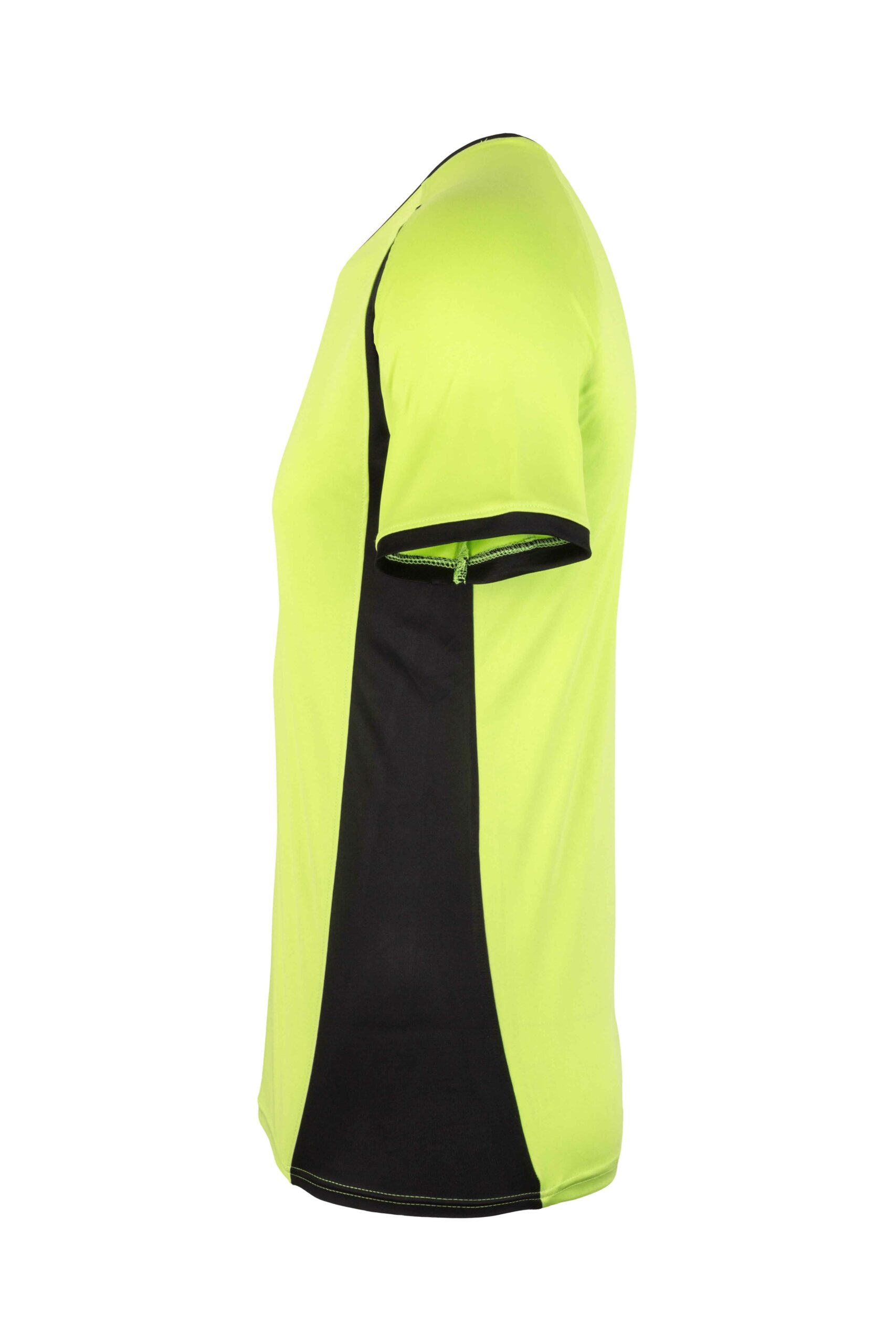 Mukua Mk530v Mukua Camiseta TÉcnica Manga Corta Bicolor Lime Blak 3
