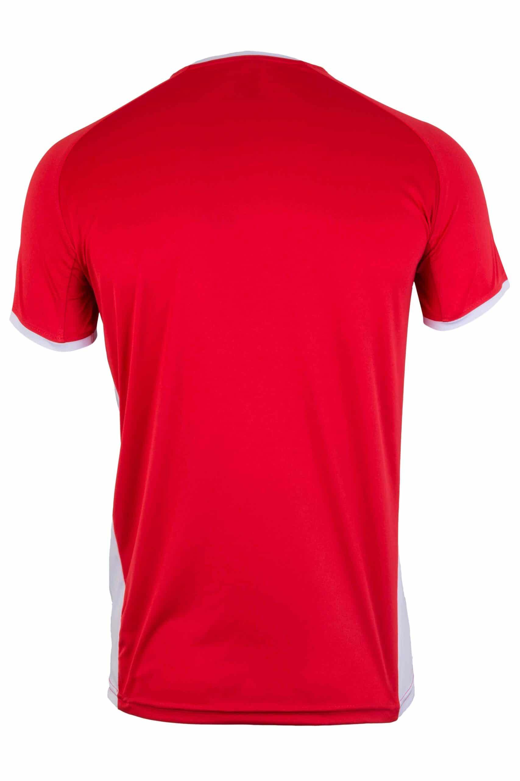 Mukua Mk530v Mukua Camiseta TÉcnica Manga Corta Bicolor Red White 2