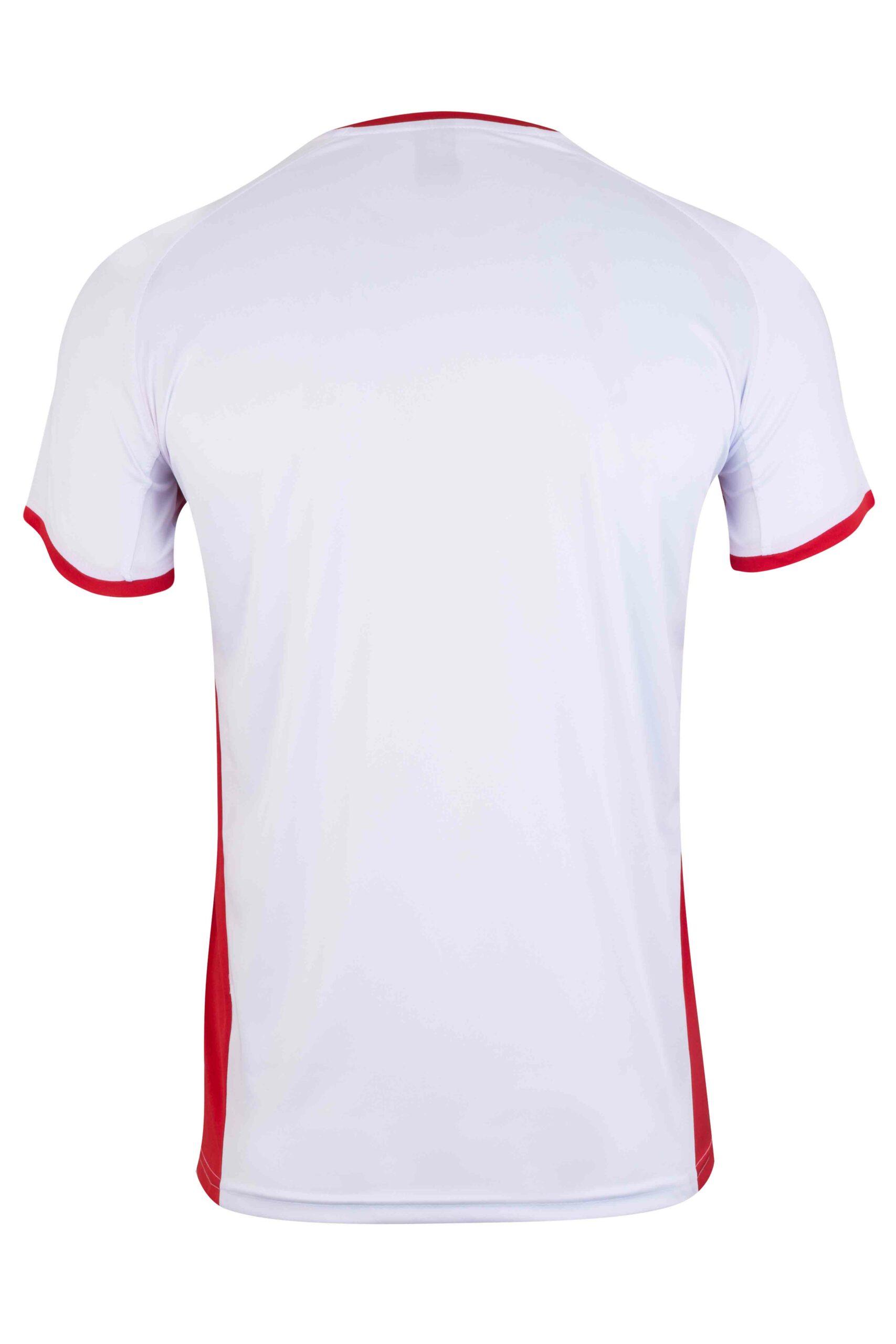 Mukua Mk530v Mukua Camiseta TÉcnica Manga Corta Bicolor White Red 2