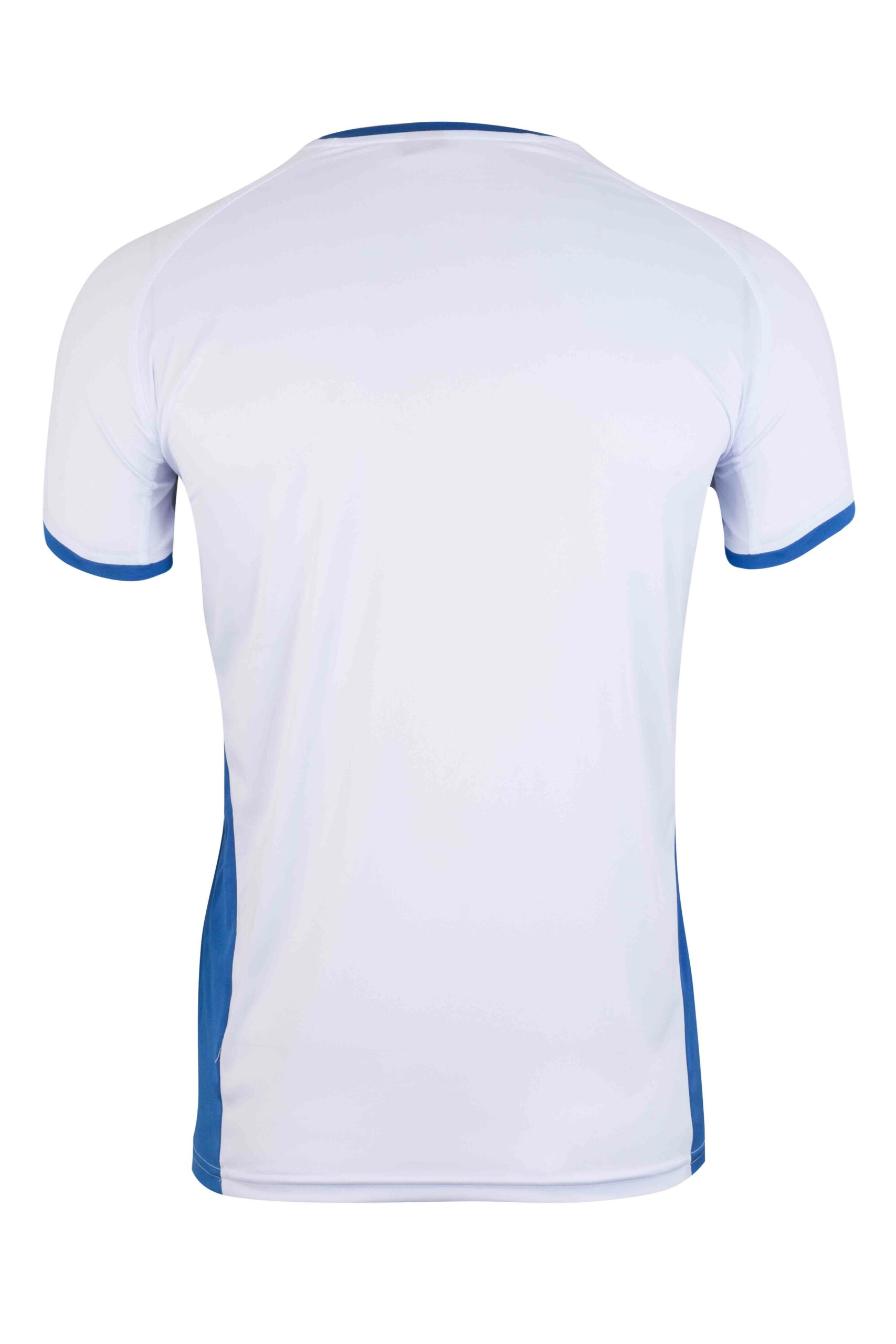 Mukua Mk530v Mukua Camiseta TÉcnica Manga Corta Bicolor White Royal Blue 2
