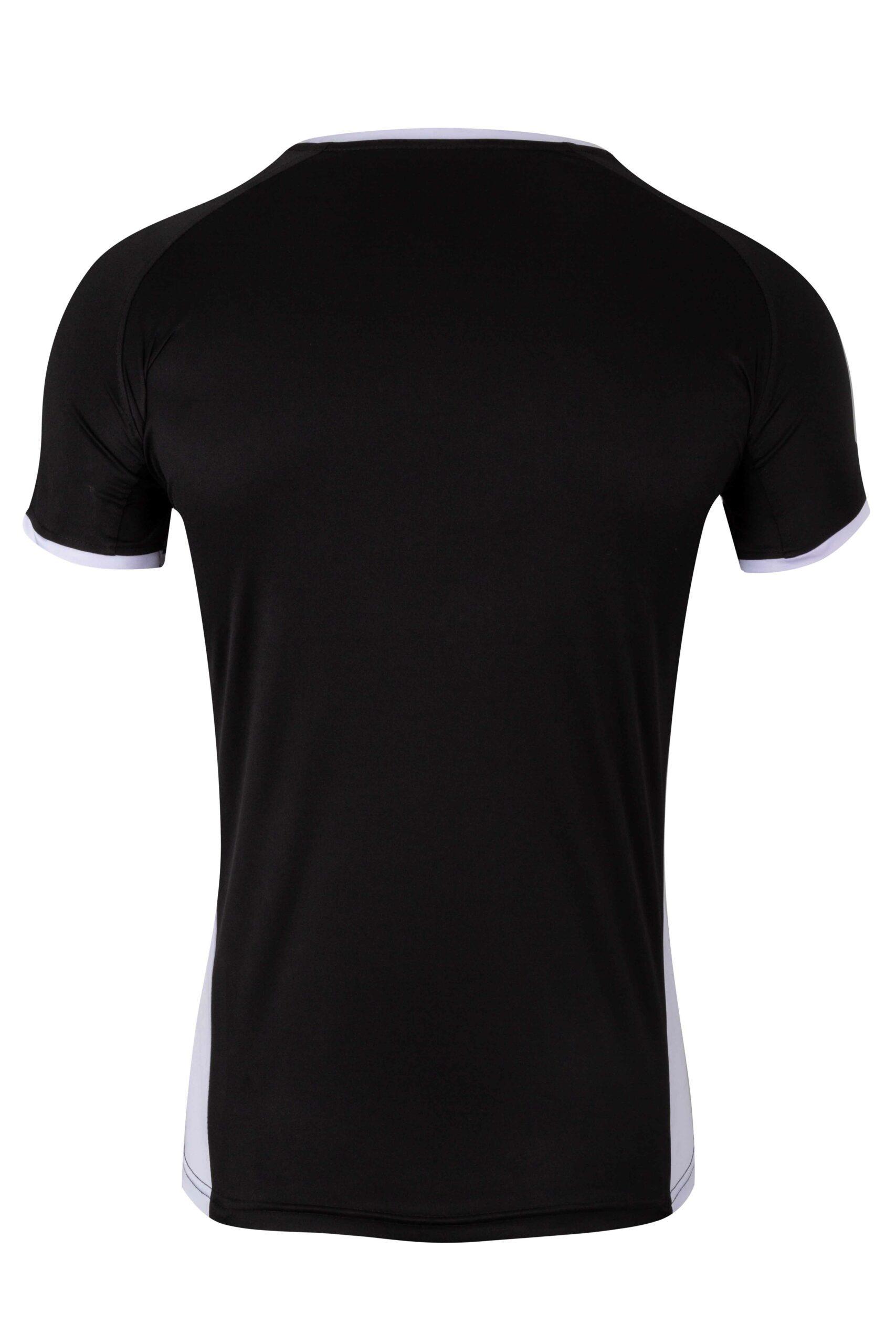 Mukua Mk531v Camiseta TÉcnica Manga Corta Bicolor NiÑo Black 2