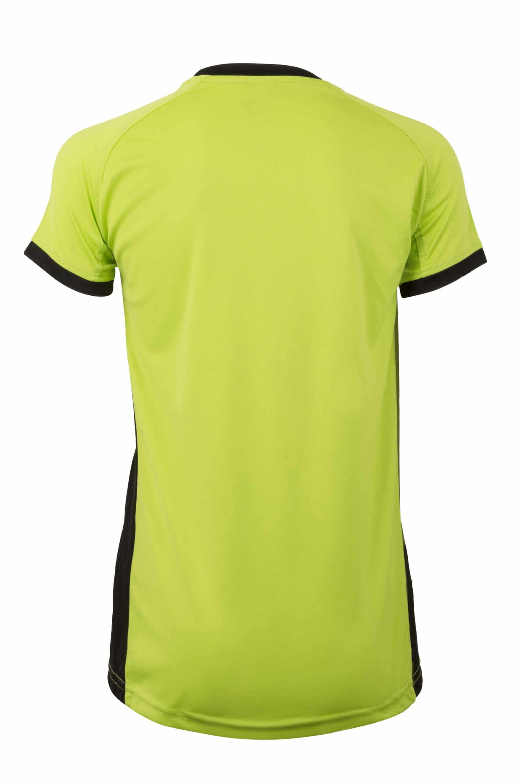 Mukua Mk531v Camiseta TÉcnica Manga Corta Bicolor NiÑo FlÚor Yellow Black 2