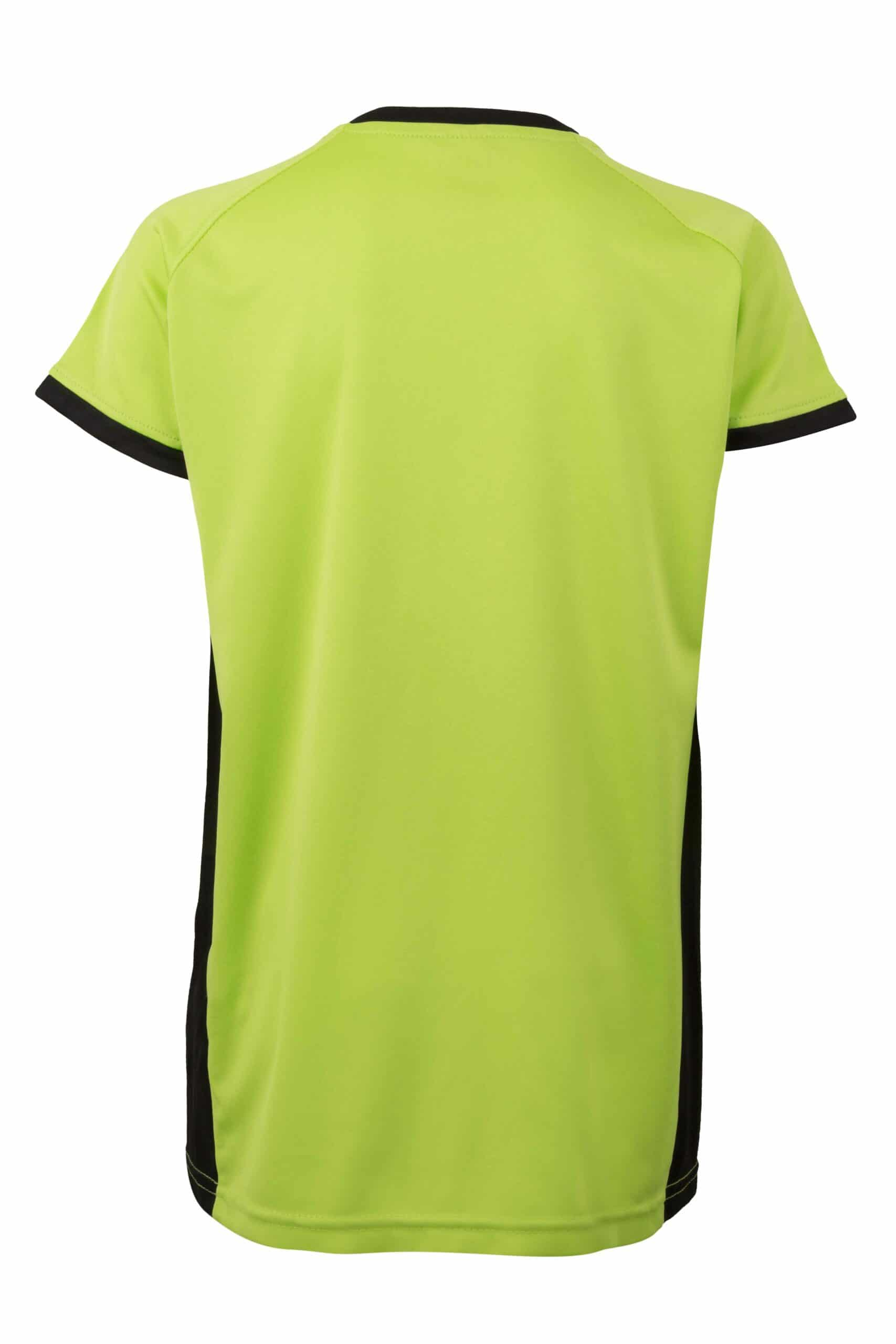Mukua Mk531v Camiseta TÉcnica Manga Corta Bicolor NiÑo Lime Black 2