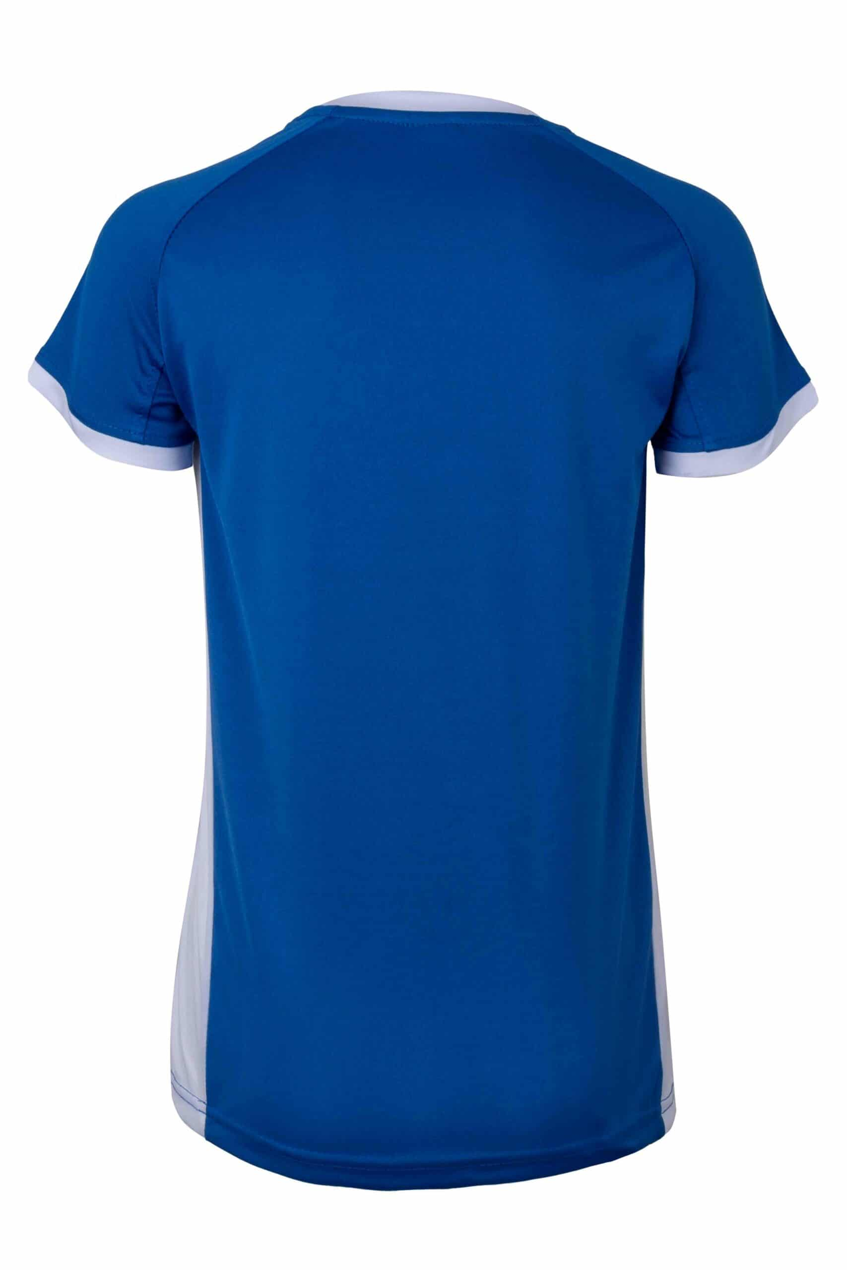 Mukua Mk531v Camiseta TÉcnica Manga Corta Bicolor NiÑo Royal Blue White 2