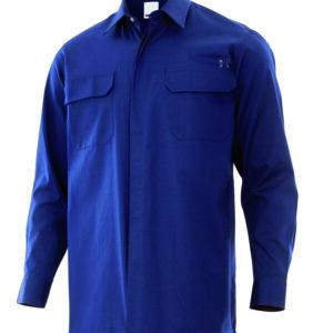 Velilla 605001 Camisa Ignifuga Azul Navy
