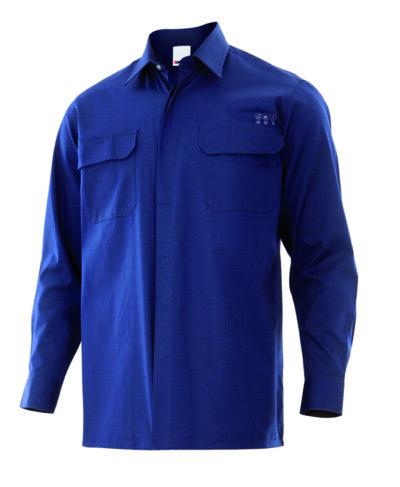 Velilla 605003 Camisa Ignifuga Azul Navy